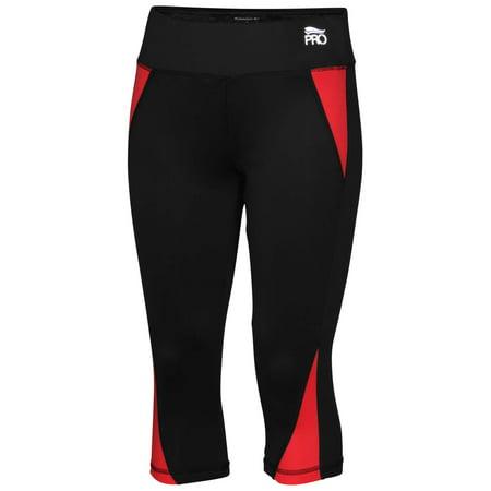Crivit Pro Women's Performance Running Capris pants tights leggings