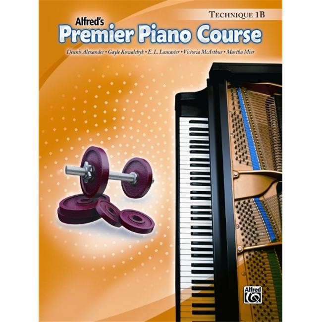 Premier Piano Course: Technique Book 1B - Piano Method Book