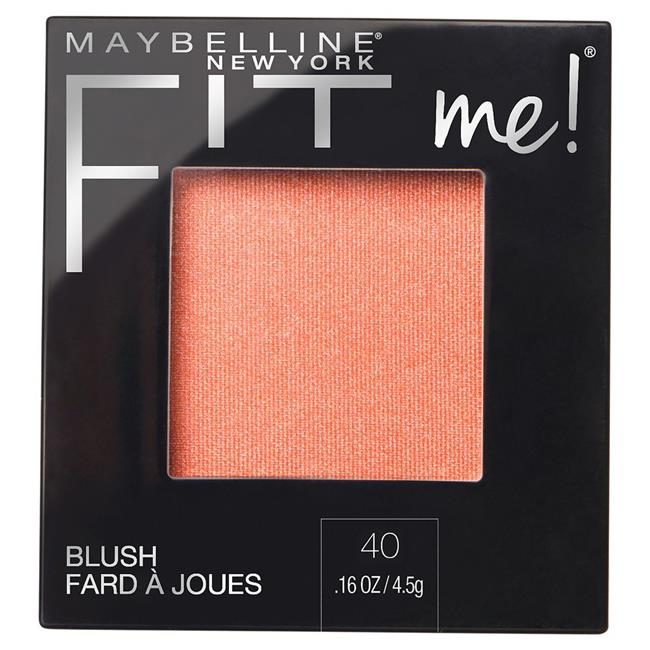 Fit Me Blush Opt 040, Peach - Pack of 2