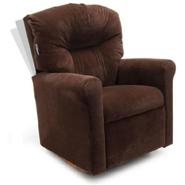 Dozydotes 14440 Childs Contemporary Chocolate Micro Suede Rocker Recliner