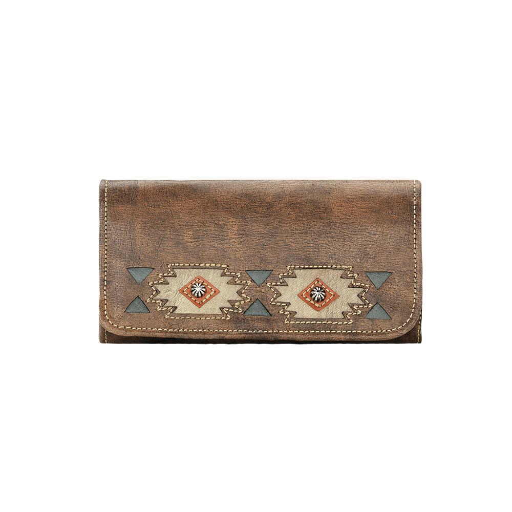 American West Native Sun Ladies' Tri-fold Wallet