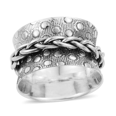Statement Ring Sterling Silver Handmade Jewelry for Women Avg. 4.61 g