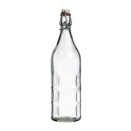 Vandue Corporation Culaccino Swing Top Round 34 oz. Glass Bottle