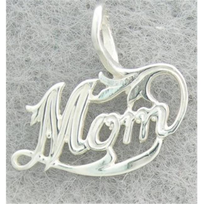 Marinas Fine Jewelry New Silver Mom Pendant