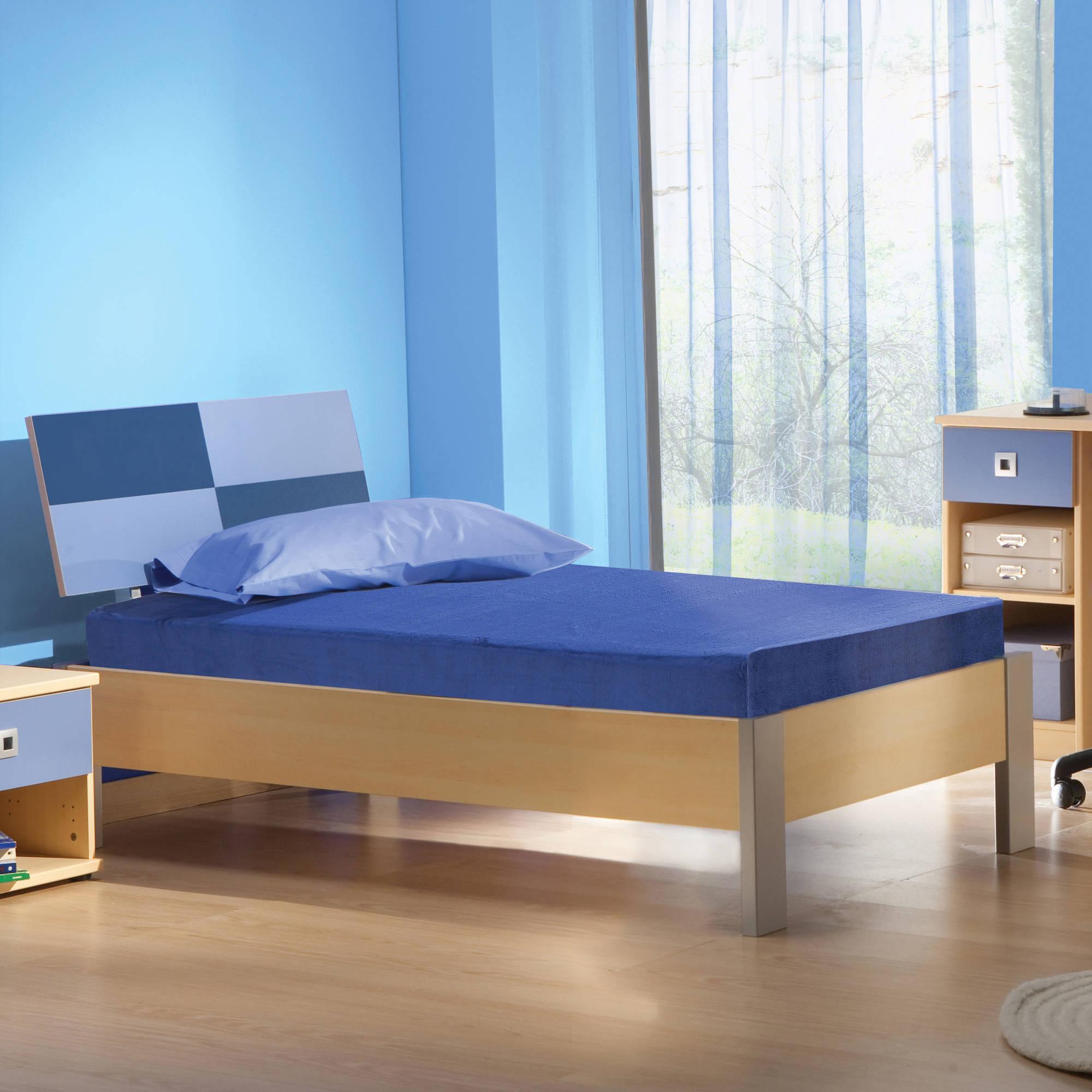 Contura 5 Inch Kids Memory Foam Mattress Blueberry, Multiple Sizes