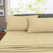 Regency Club 800 Thread Count 100% Cotton Sheet Set (King, Taupe)