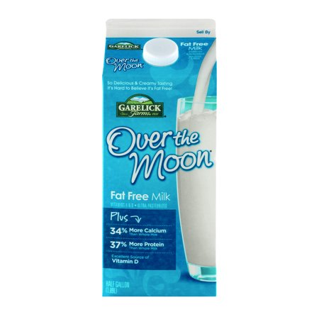 Over The Moon Fat Free Milk 10