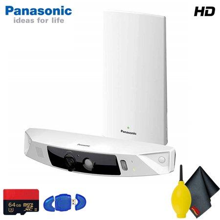 Standard Fit System - Panasonic Smart Home Monitoring HD Camera System Standard Accessory Bundle