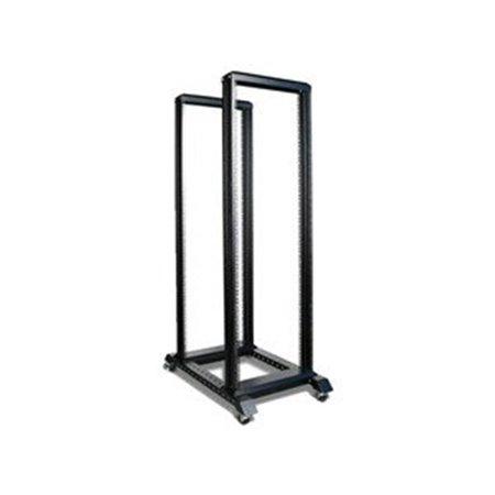4 Post Rack Kit - iStarUSA WO36AB-SFH25 36U 4 Post Open Frame Rack