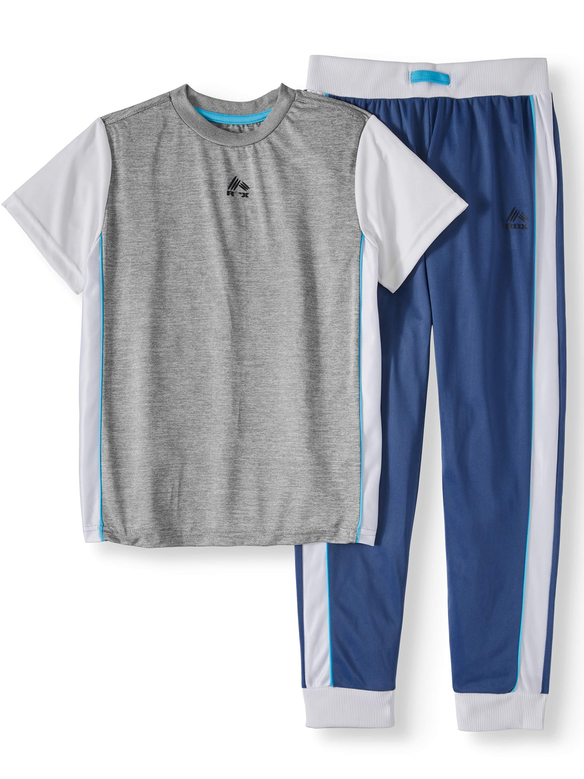 RBX Boy's Performance Top and Tricot Jogger Set
