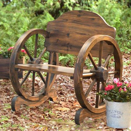 Sunjoy 110207003 Rustic Wood Chair 23