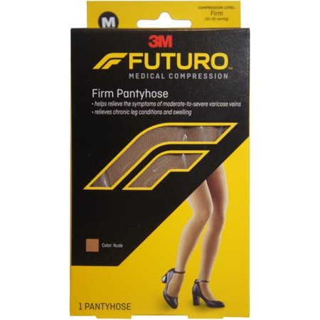 FUTURO Restoring Pantyhose Brief Cut Panty Firm Medium Nude 1 Pair