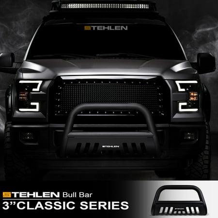 Stehlen 714937181922 3 Classic Series Bull Bar Matte Black For
