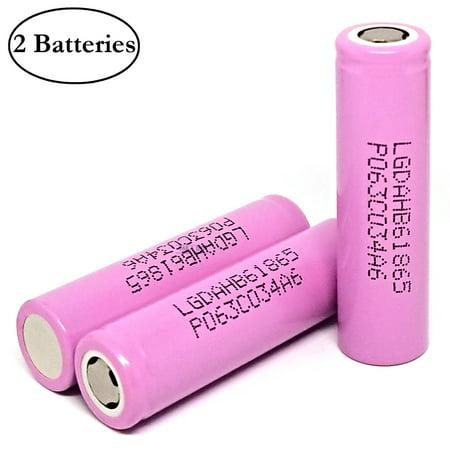 LG IMR 18650 HB6 1500mAh 30A Rechargeable High Drain Flat Top Vape Battery (2