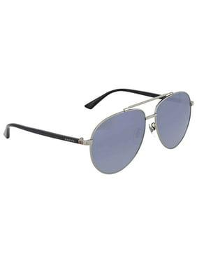 891812b171f Product Image Gucci Silver Aviator Sunglasses