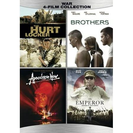 War Quad: Hurt Locker / Apocalypse Now Redux / The Brothers / The Emperor