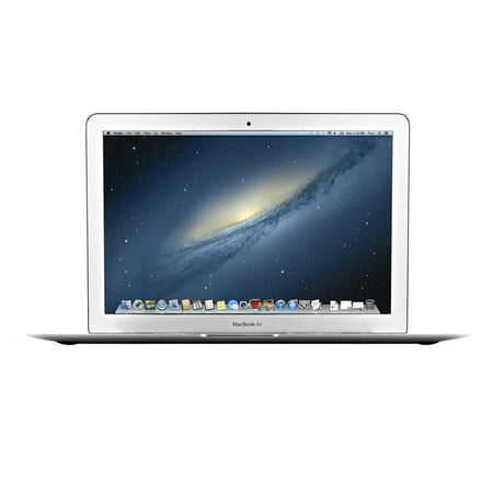 Refurbished Apple Macbook Air MD231LL/A 13.3-inch Laptop Intel Core i5-3427U X2 1.6GHz 4GB 128GB (13 Inch Vs 15 Inch Laptop For College)