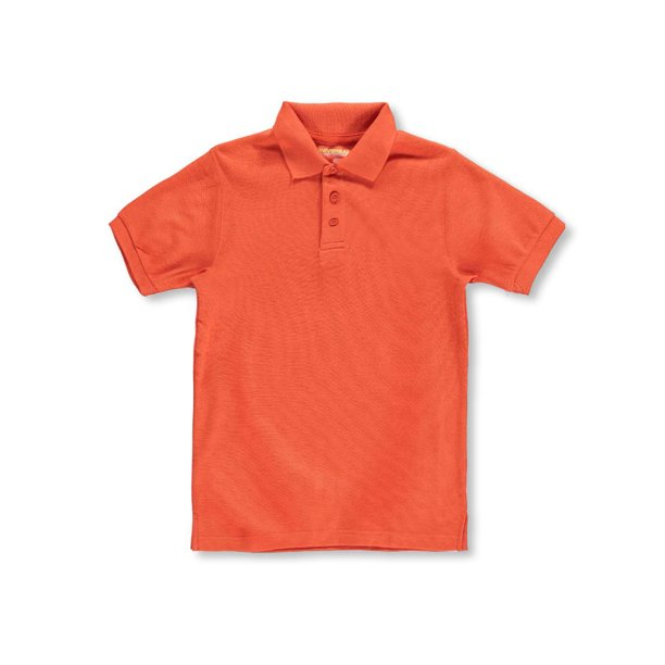 Universal Unisex S/S Pique Polo (Sizes 8 - 20) (Big Boys)