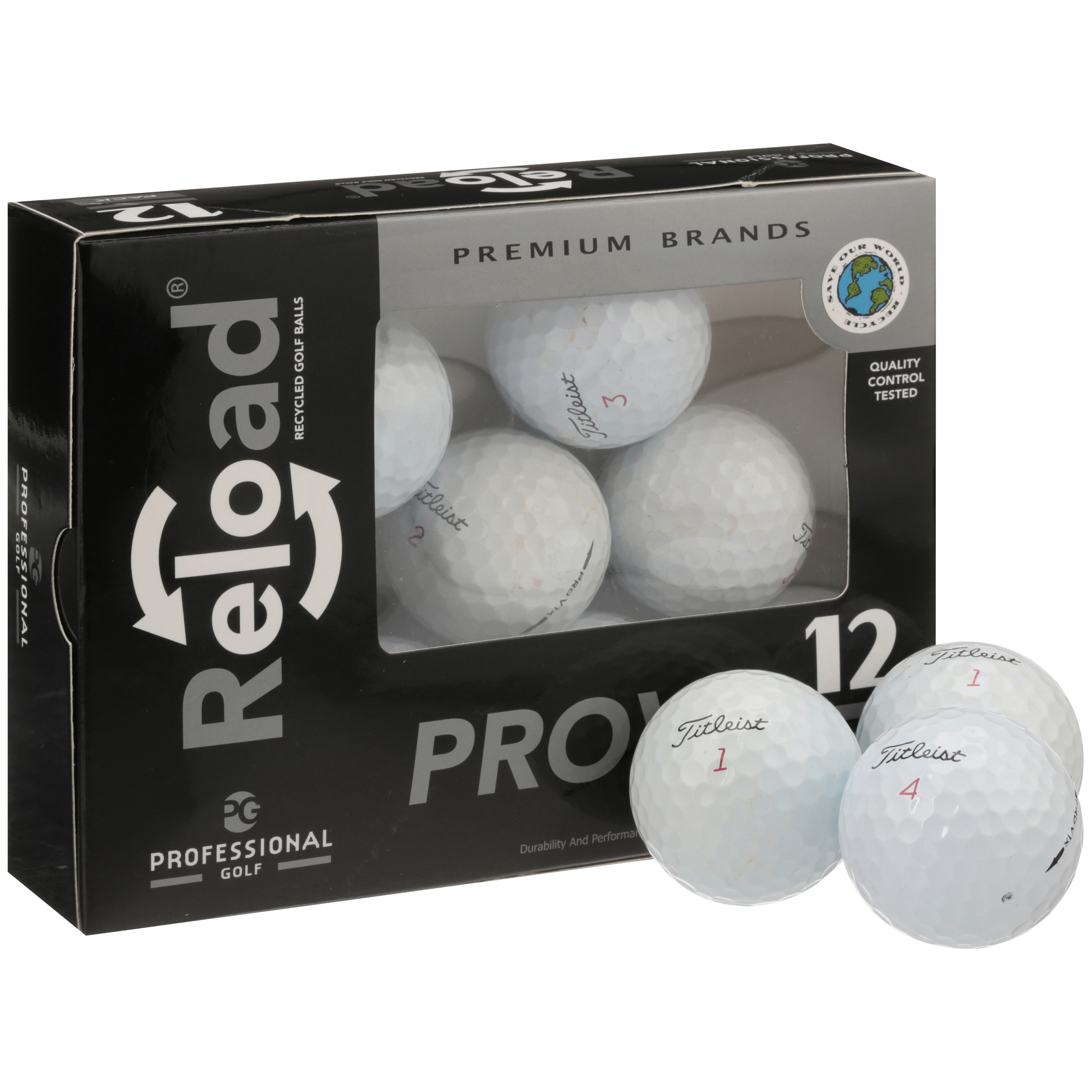 Titleist Pro V1x 2012 - Mint Quality - 12 Golf Balls