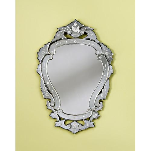 Venetian Gems  Dahlia Small Venetian Wall Mirror