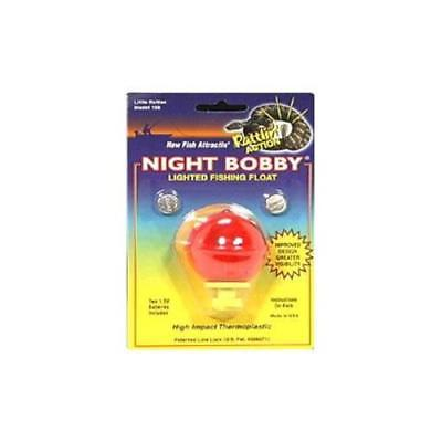 Night Bobby Round Lighted Fishing Float, 2Pack