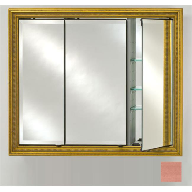Afina Corporation TD4736RSOHBZ 47x36 Recessed Triple Door Cabinet - Soho Bronze