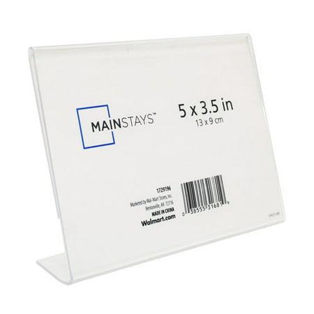 Mainstays Bent L Frame, Clear - Walmart.com