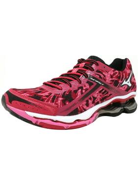 e93821e6ed6e Product Image Mizuno Women's Wave Creation 15 Pink / White Black Ankle-High  Fabric Running Shoe -