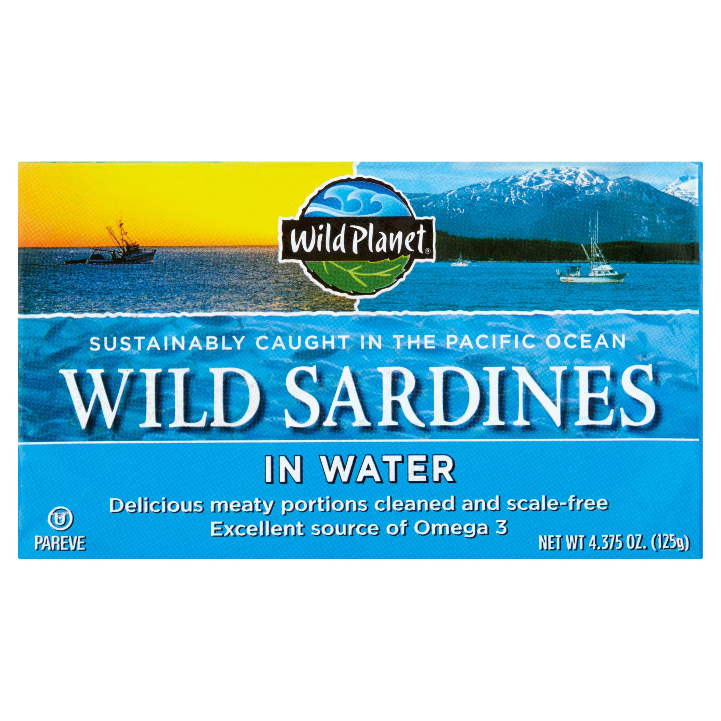 ***Discontinued***WP SARDINES WTR by Wild Planet Foods, Inc.