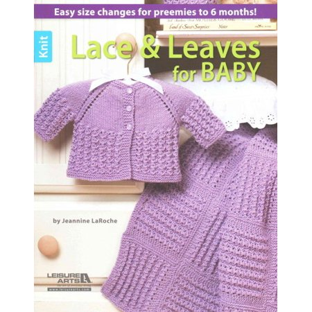 Knit Lace & Leaves for Baby (Baby Leaf)