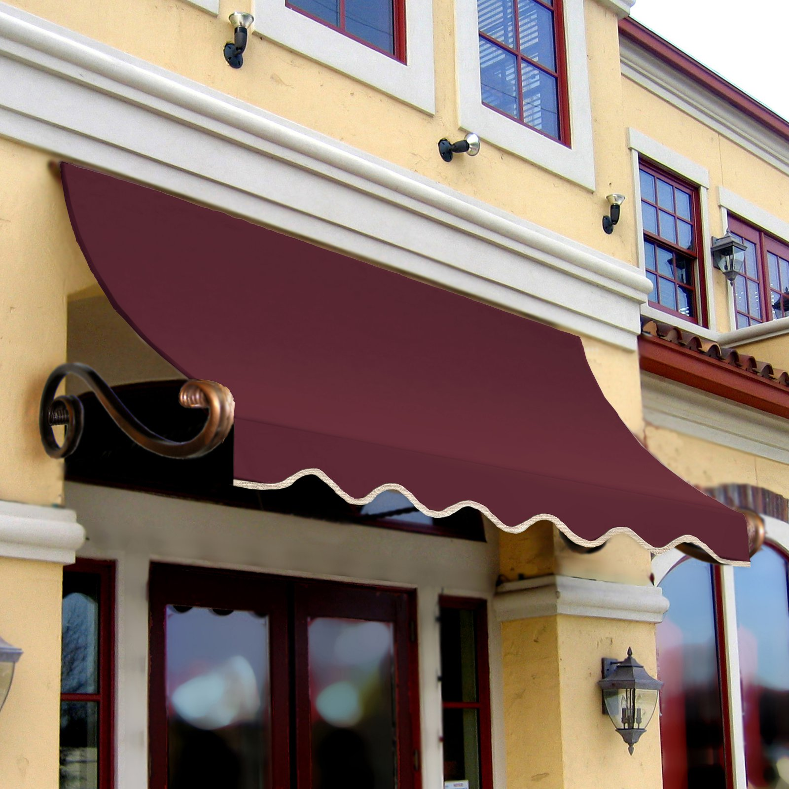 Awntech Beauty-Mark Charleston 6 ft. Window/Door Awning