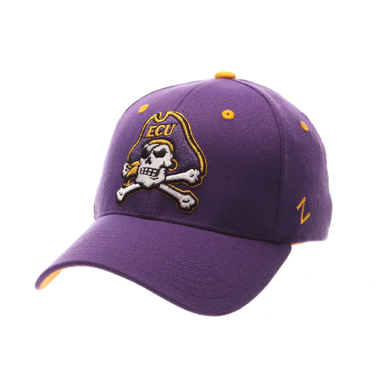 East Carolina Pirates ZHS Stretch Hat (Purple)