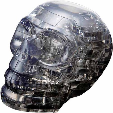 3D Crystal Puzzle, Skull
