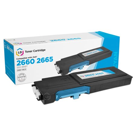 LD Compatible Dell 593BBBTCTS 488NH (TW3NN) Cyan High Yield Toner Cartridge Includes: 1 593-BBBT Cyan for use in Dell