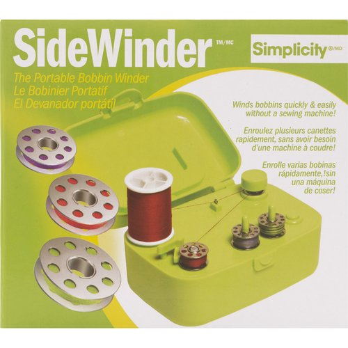 Sidewinder Portable Bobbin Winder, Green