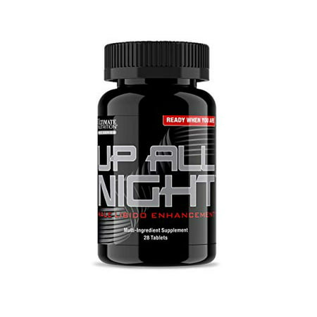 Ultimate Nutrition Up All Night Libido and Stamina Booster for Men - Increase Sex Drive, Last Longer, Feel Better, 28 (Best Drug To Increase Female Libido)