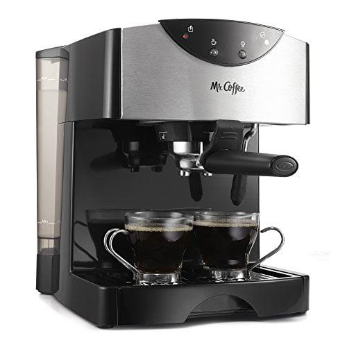 Mr Coffee Automatic Dual Shot Espresso/Cappuccino System,...