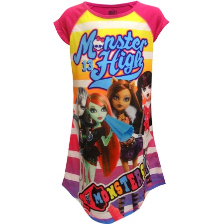 Monster High Dolls Nightgown (Monster High Clothes For Kids)