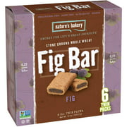 Nature's Bakery Fig Fig Bars, 12 oz, (Pack of 6)