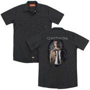 Constantine Smoker (Back Print) Mens Work Shirt