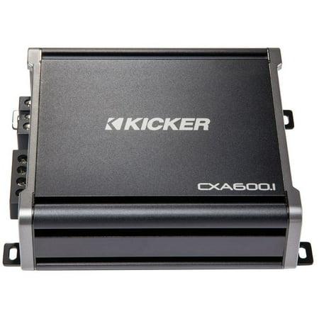 Mono Amplifier Amp (Kicker 43CXA6001 600 Watt RMS Monoblock Amp Mono One Channel Power)
