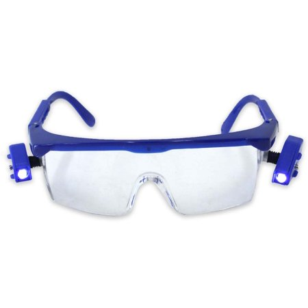 Safety Glasses Equipped With Dual Swivel Led Lights :  ( Pack of  1 Pc )](Safety Lights)