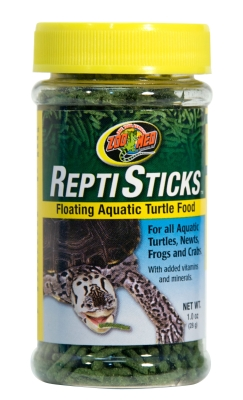 Zoo Med ReptiSticks ZM-31 Floating Aquatic Turtle Food, 1 oz by ZOO MED LABORATORIES INC