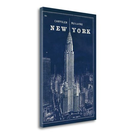 Blueprint Map New York Chrysler Building by Sue Schlabach - image 2 de 2