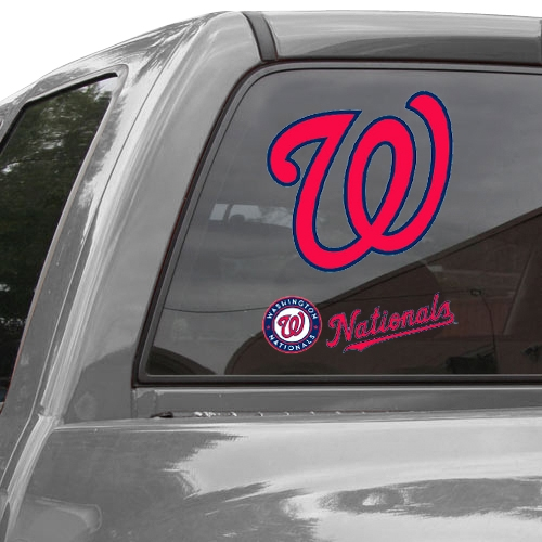 "Washington Nationals 11"" x 17"" 2-Pack Ultra Decal Sheet - No Size"