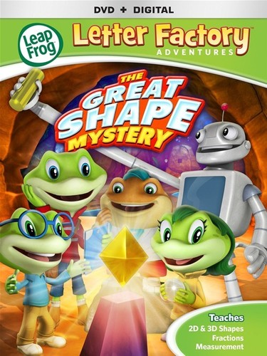 Leapfrog Letter Factory Adventures: The Great Shape Mystery (DVD) by Lionsgate