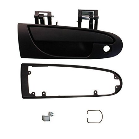 1995-1999 Mitsubishi Eclipse, Eagle Talon 1995-2000 Dodge Avenger Chrysler Sebring Coupe 2 Door Outside Outer Exterior Black Door Handle Right.., By Aftermarket Auto Parts