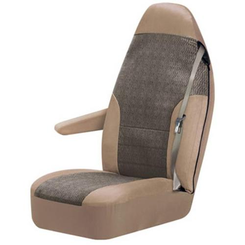 Sheepskin Bucket Seat Cover Charcoal