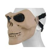 Tac 9 Industries Tac 9 AC-318TN Mesh Skull Full Face Mask Gen2 ( Tan )