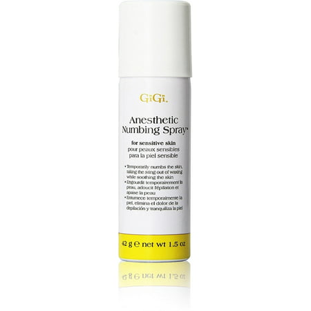 GiGi Anesthetic Numbing Spray  1.5 oz (Numb At The Edge Of The End)